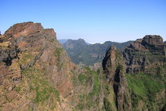Madeira mountains Stock Photography