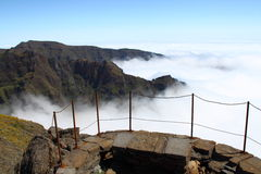 Madeira Mountains Royalty Free Stock Images