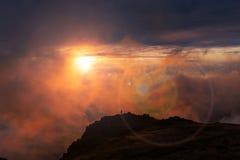Madeira mountains Stock Images