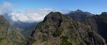 Madeira mountains Royalty Free Stock Photo