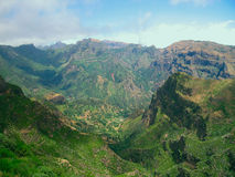Madeira. Mountains. Portugal. Royalty Free Stock Images