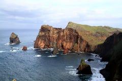 Madeira north coast Royalty Free Stock Photo
