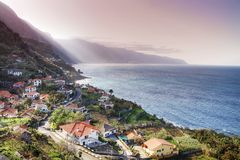 Madeira north coast Royalty Free Stock Photos