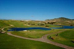 Madeira: Oporto hace al club de golf de Santo Fotografía de archivo libre de regalías