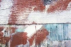 Madeira pintada, Smith Island, Maryland imagem de stock royalty free