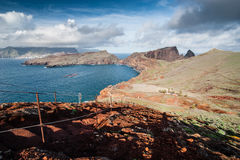Coastline of Madeira island Royalty Free Stock Image