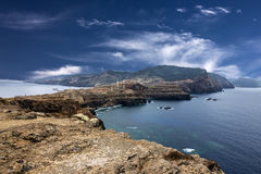 Madeira, Ponte de Sao Lourenco, eastern part of the island, Port Royalty Free Stock Photography