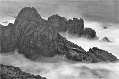 Madeira Porto Moniz Arkivbilder