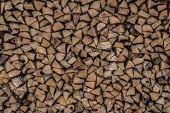 Madeira rachada do inverno imagem de stock