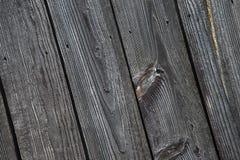 Madeira resistida velha do celeiro, pregos, Imagens de Stock