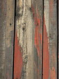 Madeira resistida, vertical foto de stock