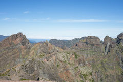 Madeira's mountains Royalty Free Stock Images