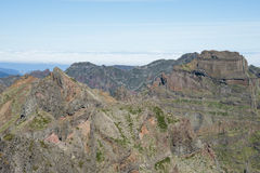 Madeira's mountains Royalty Free Stock Photography