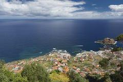 Madeira's (Portugal) north coast Stock Photography