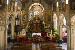 Madeira - Sao Vicente Church Royalty Free Stock Photography