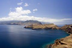 Madeira Sea III. Madeira southern coastline, ideal for hiking Royalty Free Stock Image