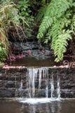 Madeira sea side waterfall Royalty Free Stock Photo