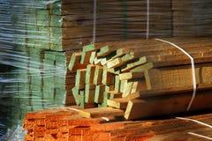 Madeira serrada Fotografia de Stock Royalty Free
