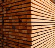 Madeira serrada Imagem de Stock