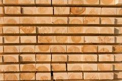 Madeira serrada e madeira imagens de stock royalty free