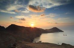 Madeira sunrise Stock Photography