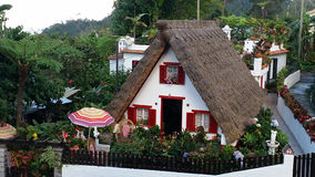 Madeira Traditional House stock photography