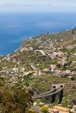 Madeira urbanisering Arkivbilder