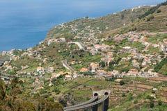Madeira urbanisering Arkivfoton