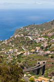 Madeira urbanization Stock Images