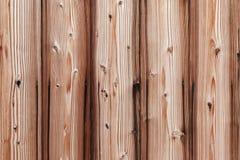 Madeira velha listrada no fundo e na textura de superfície da parede Fotografia de Stock