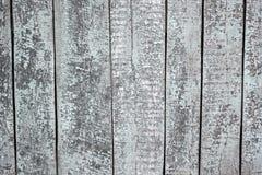 Madeira velha pintada Fotografia de Stock