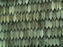 A madeira velha shingles o fundo imagem de stock royalty free