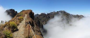 Madeira-Wandern stockbild