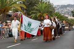 Madeira-Wein-Festival in Funchal Stockbild
