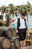 Madeira-Wein-Festival in Funchal Stockfotos