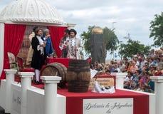 Madeira-Wein-Festival in Funchal Stockfoto
