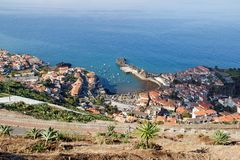Madeira, west coast Stock Images