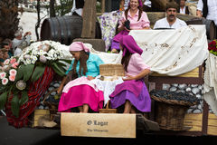 Madeira Wine Festival in Funchal Stock Images