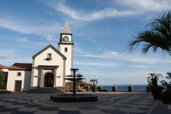 Madeiraligththouse Arkivfoton