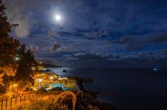 Madeiran νύχτα Στοκ Εικόνες