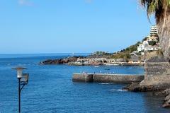 Madeiran hamn Fotografering för Bildbyråer