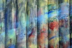 Madeiras de Colorfull Fotos de Stock Royalty Free