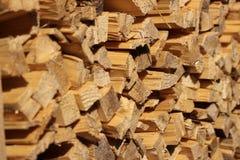 Madeiras de madeira Foto de Stock Royalty Free