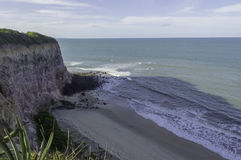 Madeirostrand - Pipa-strand, RN, Brazilië stock foto's