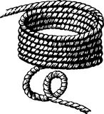 Madeja de la cuerda Foto de archivo