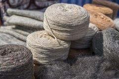 Madeja de lanas Foto de archivo