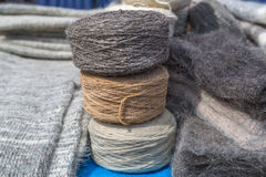 Madeja de lanas Fotografía de archivo libre de regalías
