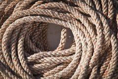 Madeja marina de la cuerda foto de archivo libre de regalías