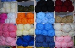 Madejas de lanas Imagen de archivo