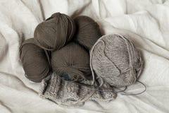 Madejas de las lanas Fotos de archivo libres de regalías
